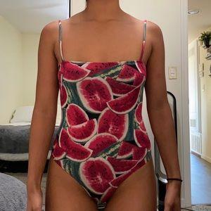 Watermelon bodysuit